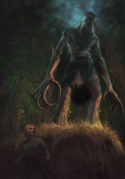 Gwent Art Contest - Grottore by GureeOokami