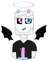 Nathan the Anger Demon Wither by BabyWitherBoo