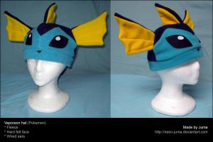 Vaporeon hat 2 by Neon-Juma