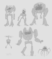PLANT ROBOTS by UnknownSpy