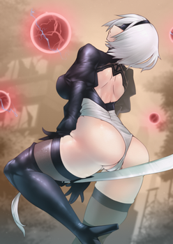 2B (NieR:Automata) by Skello-on-sale