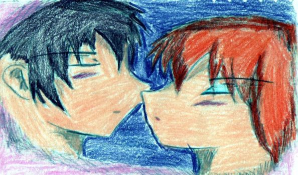 Lovers on color by Locky-Jaki