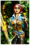 Witcher - Triss Merigold Statue2 by Hollow-Moon-Art