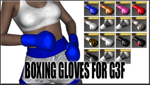 Boxing Gloves for Genesis 3 Female by sedartonfokcaj