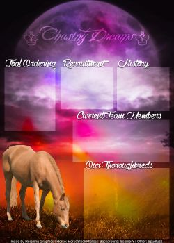Chasing Dreams's Team Layout by Reigning-Graphics