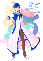 KAITO 10th by Oxymoroff
