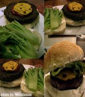 Burger Collage by mcCallaman