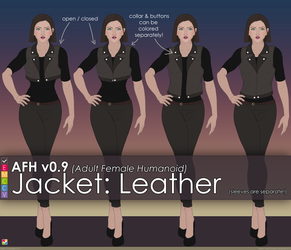 AFH: Jacket - Leather by EMCCV