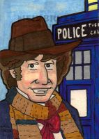Doctor Who Sketch Cards 4 by WombatOne