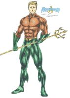 Aquaman - Arthur Curry Orin by kiborgalexic