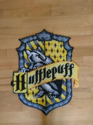 Hufflepuff emblem/shield from Harry Potter by MagicPearls