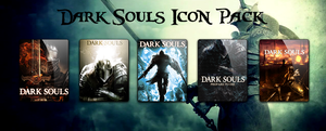 Dark Souls Icon Pack by Zakafein