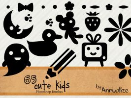 Cute Kids Brushes by Annualize
