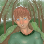 The boy in the woods by blacktidesly