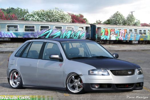 Volkswagen Gol G4 by Caioul