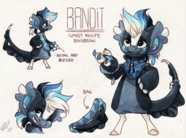 Bandit Ref. Sheet [CM] by Baraayas