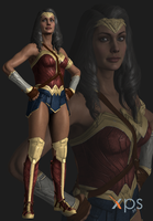 Injustice 2 Wonder Woman Justice League Movie by thePWA