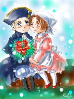 APH Chibis by MaryIL