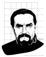 Doctor Who: Anthony Ainley by temmosus