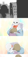 going to grillby's. kiddo, do you want anything? by CloneLab