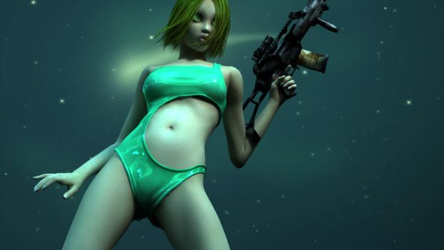 Mean and Green by renderghost