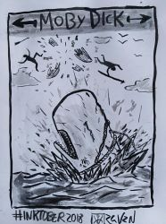Moby dick by Vlad-Ravenfall