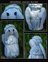 Weeping Angel Plushie II by Akiso