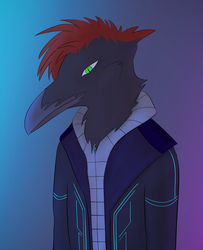 Cyber Crow by Flight-Level