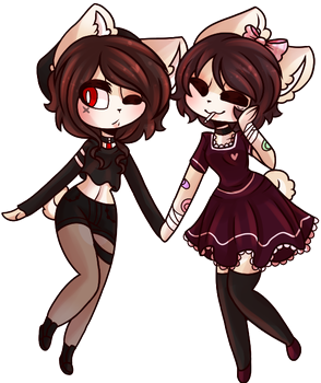 [ Sinister Sisters ] by GlichieVirus