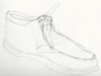 Shoe Contour Study by MilesSeawind