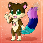 [Commission] Shore the otter by Veemonsito
