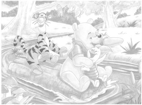 Winnie the Pooh and Friends by Haamurabai