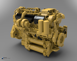 Heavy Duty Engine by scutfarkus