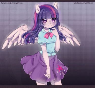 Twilight Sparkle by LaDollBlanche