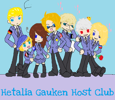 Hetalia Gauken Host Club. by CaitlinXchan