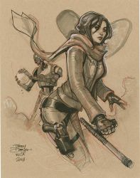Jyn Erso from WonderCon by TerryDodson