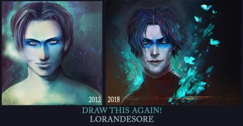 Draw this again! Winter by LoranDeSore