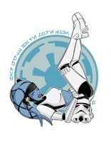 Twi-Lek Stormtrooper Pin-Up by jpc-art