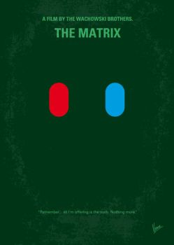 No117 My MATRIX minimal movie poster by Chungkong