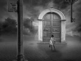 TheDoorBW by Denise-Rowlands