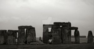Morning Stonehenge by Lunapic