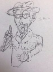 SCP-731 'Dr.Finn' (The SCP Journals Character) by StantheSpider