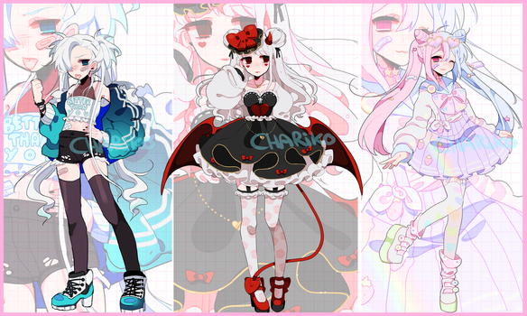 Adoptables. CLOSED - set price by CHARIKO