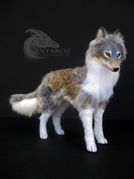 Timber Wolf Room Guardian by AnyaBoz