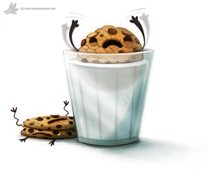 Daily Painting 885. Cookies by Cryptid-Creations