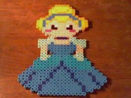 Princess Cinderella Perler by Perler-Pop