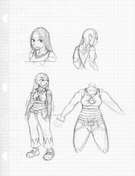 Raw Scan #007: Anarchy Sketches by JohnColburn