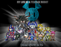 MY LIFE A TEENAGE TRANSFORMERS by mayozilla