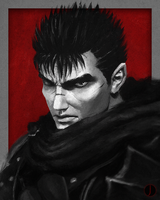 The Black Swordsman by PhotoshopIsMyKung-Fu