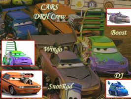 CAR- DRH Crew Wallpaper by silverjade2003